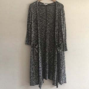 Lula Roe Duster Cardigan Size Small